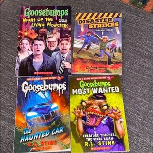 Children's Books, Goosebumps